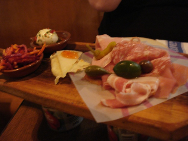 meat antipasto
