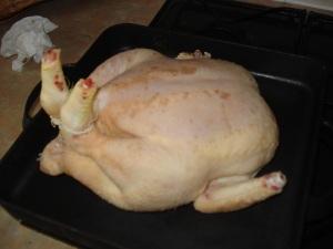 chicken post-brining