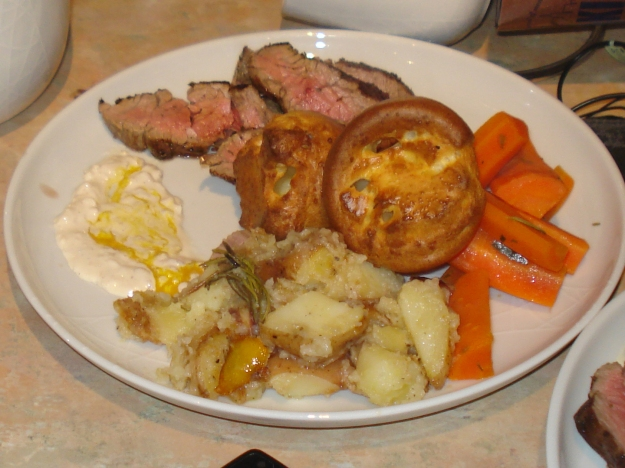 jamie oliver's 30 minute roast beef dinner