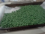 peas defrosting