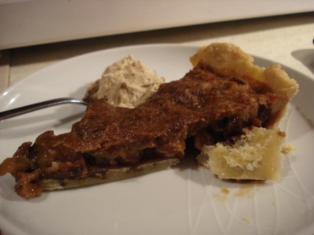ecclefechan tart with ginger cream