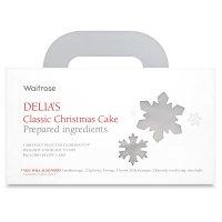 delia's christmas cake in a box