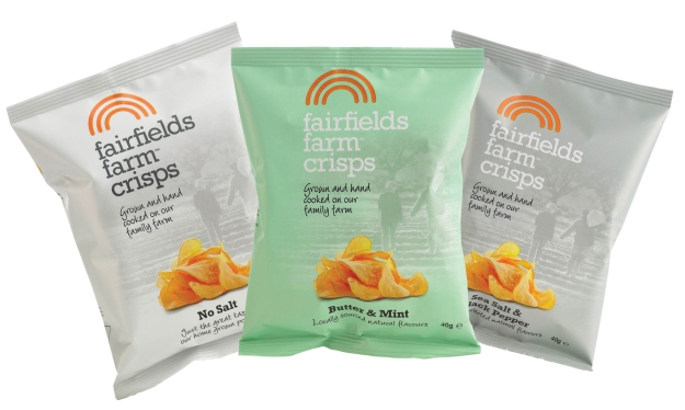 Three new crisp flavours fairfield farm essex