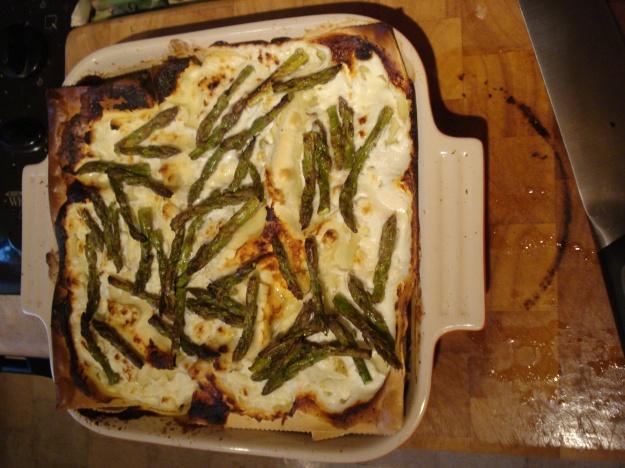 summer veg lasagne