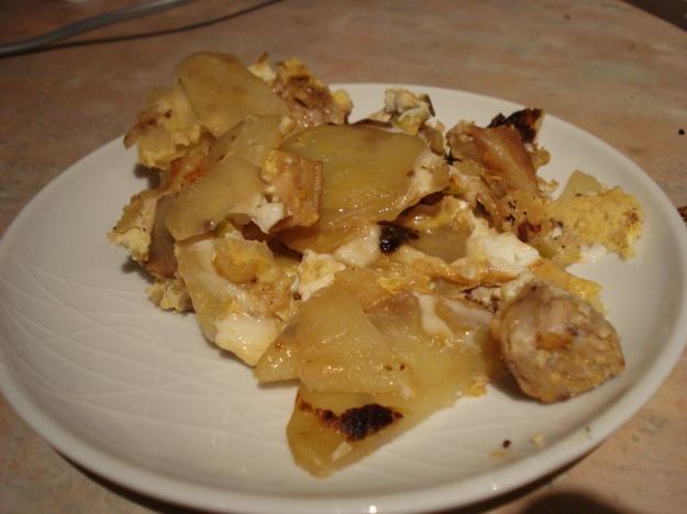 tortilla de patatas rustic style, OK?
