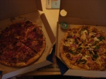dominos rustica and firenze pizzas