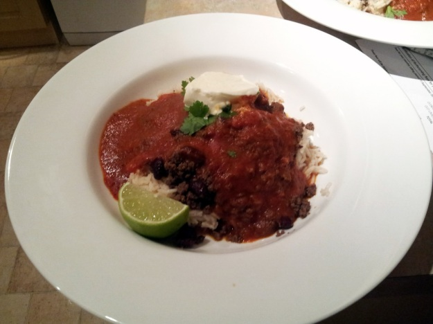 jamie oliver's 15 minute chilli con carne meatballs