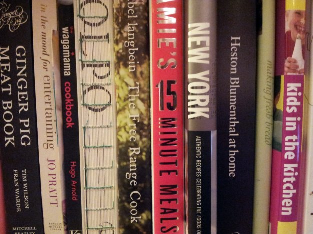 my cookbook shelf, december 2012