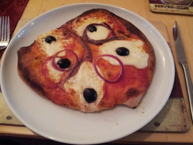 heston blumenthal's perfect pizza