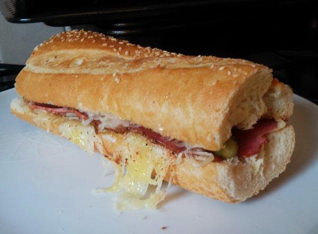 reuben style sandwich